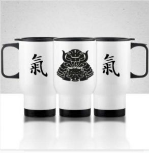 Taza Termo Samurai Ki