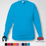 Sudadera Azul Cuello Redondo