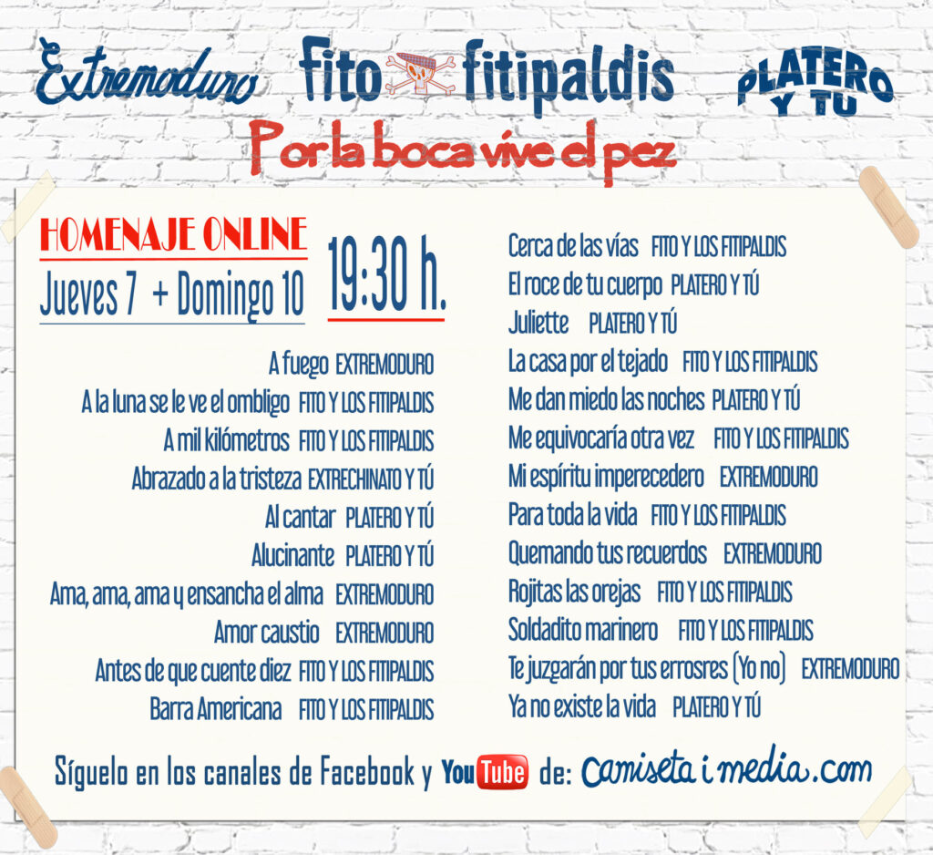 Homenaje Fito Fitipaldis