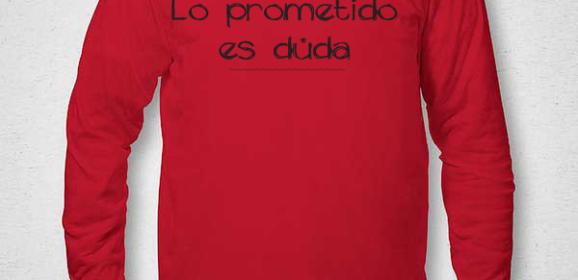 (Des)propósitos 2018 en una camiseta